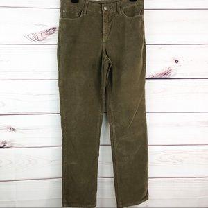 P68 NYDJ corduroy straight leg jeans